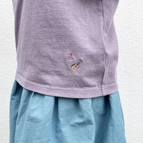 """レディース*快晴堂-カイセイドウ-サイズ3+ 海上がりTシャツ""""Ukulele""""/こしあん"""