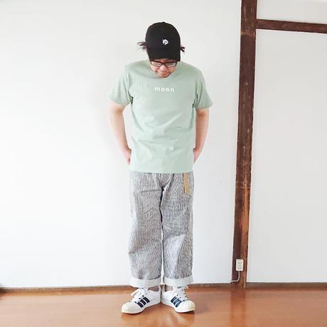 """メンズ*快晴堂-カイセイドウ-Boy's 海上がりTシャツ""""MOON/ヨモギ""""(91C-25B)"""
