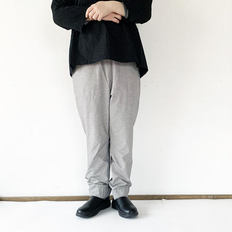 全2色*レディース*prit-プリット-綿麻ストレッチ 裾ゴムパンツ P92017