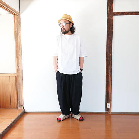 *ユニセックス*have a good day-ハブアグッドデイ-Loose s/s tee ルーズTシャツ/ホワイト