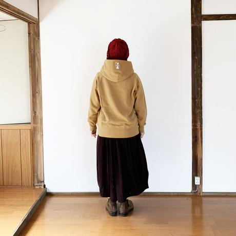 レディース*快晴堂-カイセイドウ-裏起毛ロゴパーカー/ロウズボール SIZE3+ (03C-122G)