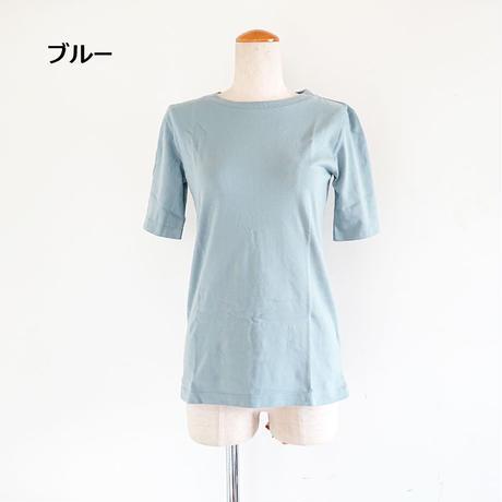 全4色*レディース*Urvin-アーヴィン-kincyaku t/巾着付き5分袖Tシャツ