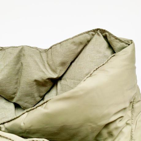goods*The Loft Labo by NANGA-ザロフトラボ × ナンガ-WANG/キルティングダウンショートマフラー/オリーブ