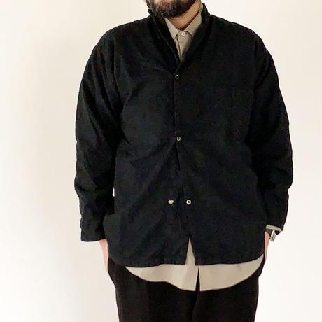 *ユニセックス*40's~50's米軍 新品未使用品 黒染め フランネルスリーピングシャツ