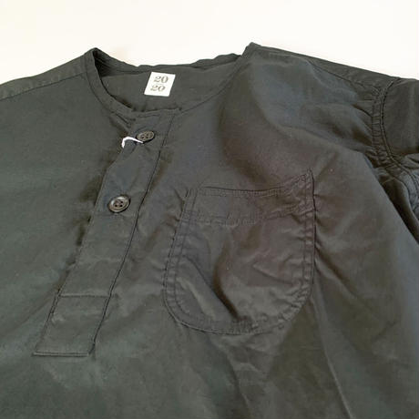 *ユニセックス*20/20 Twenty-Twenty[s]-Pullover Shirt[2035]/ブラック