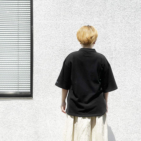 ユニセックス*Tieasy Authentic Classic-ティージー-SUPER KANOKO BIG POLO( te901)/ブラック
