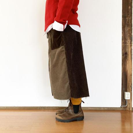 *レディース*TIGRE BROCANTE-ティグルブロカンテ-ミックスコールファティーグスカート