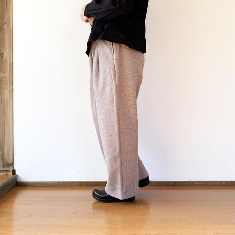 """*レディース*KELEN-ケレン- W Face ダブルフェイス イージーワイドパンツ""""Rye""""/モカ"""