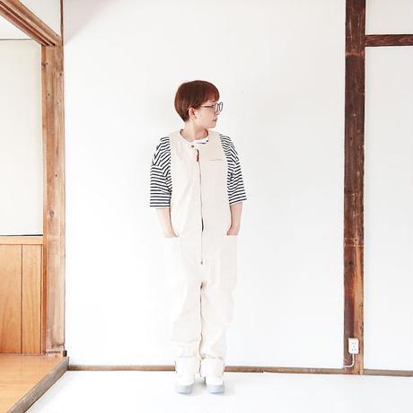 送料無料*ユニセックス*SUMAR WORKS-スマーワークス- TSUNAGUI -繋ぐ衣-/ナチュラル