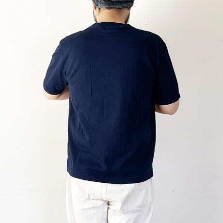 *ユニセックス*ARVOR MAREE-アルボマーレー- ロゴTシャツ/ネイビー