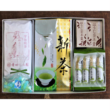 №CHY-1 新茶+和菓子限定ギフトセット
