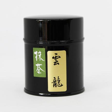 宇治抹茶 【雲龍】30g缶入り