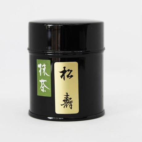 宇治抹茶 【松寿】30g缶入り