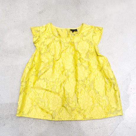 Vintage Yellow Flower Tops