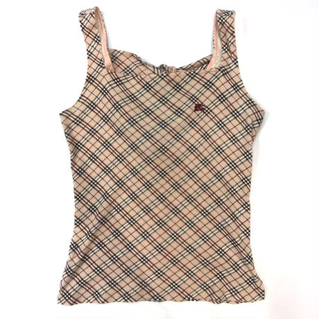 Burberry Check Back Ribbon TankTop
