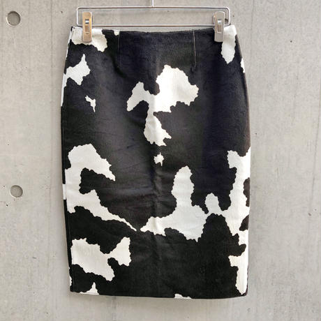 Vintage  Cow Haraco Skirt