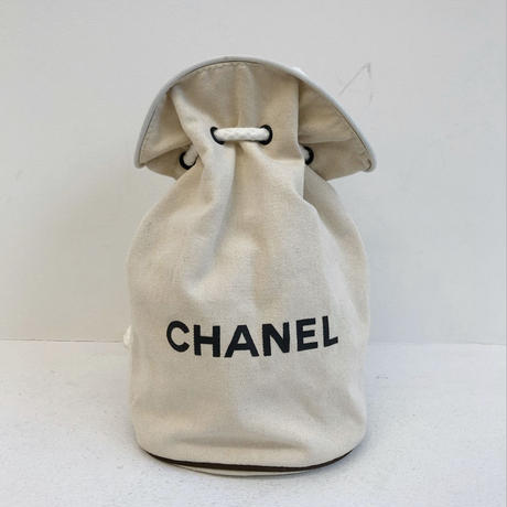 Vintage CHANEL Pool Bag  Ivory(Small size)