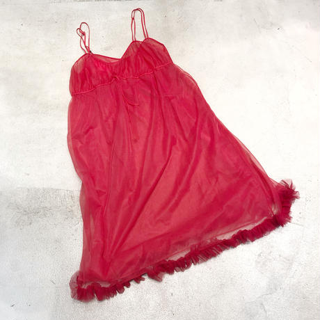 Vintage  Lingerie Volume Dress 1744586