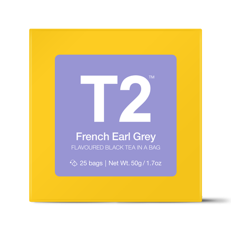 T2 紅茶 French Earl Grey(フレンチ・アールグレイ)ティーバッグ 25個入り
