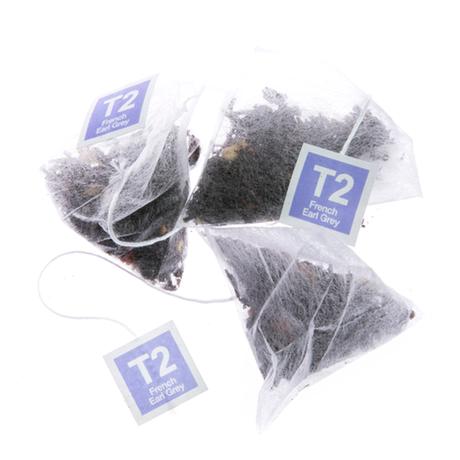 T2 紅茶 French Earl Grey(フレンチ・アールグレイ)ティーバッグ 60個入り