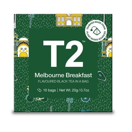 T2 紅茶 Melbourne Breakfast(メルボルン・ブレックファスト)ティーバッグ 10個入り