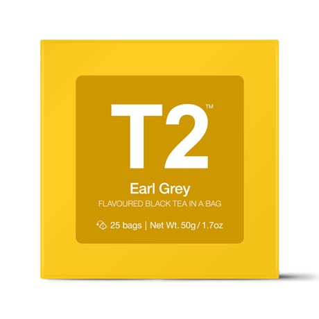 T2 紅茶 Earl Grey(アールグレイ)ティーバッグ 25個入り