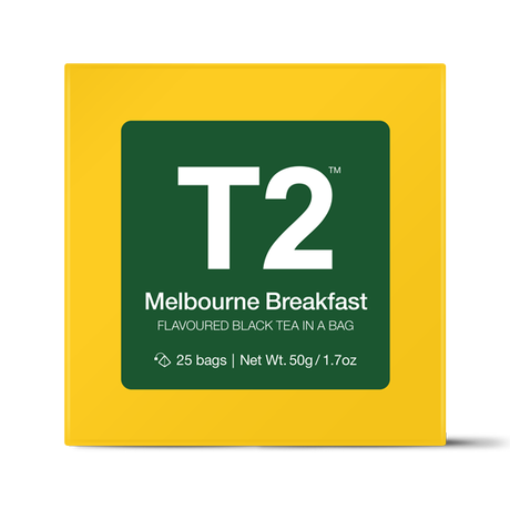 T2 紅茶 Melbourne Breakfast(メルボルン・ブレックファスト)ティーバッグ 25個入り