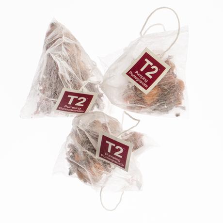 T2 紅茶 Pumping Pomegranate(ザクロティー)ティーバッグ 25個入り