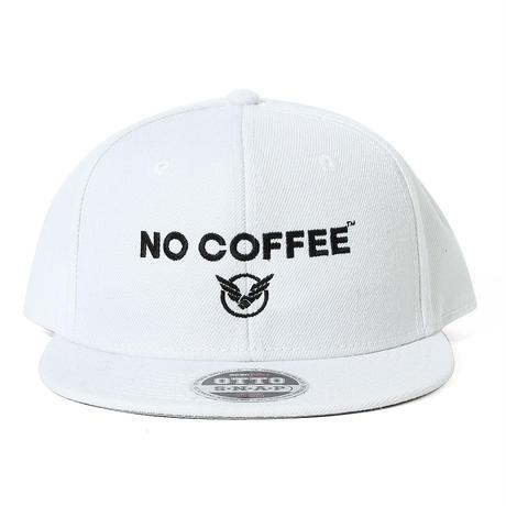 NO COFFEExYOSHIDAROBERTOロゴキャップ(ホワイト)