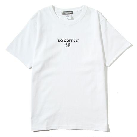NO COFFEExYOSHIDAROBERTO™Tシャツ(ホワイト)