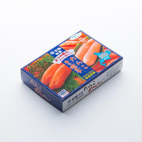 北海道前浜産  たら子・明太子(無着色)/各250g