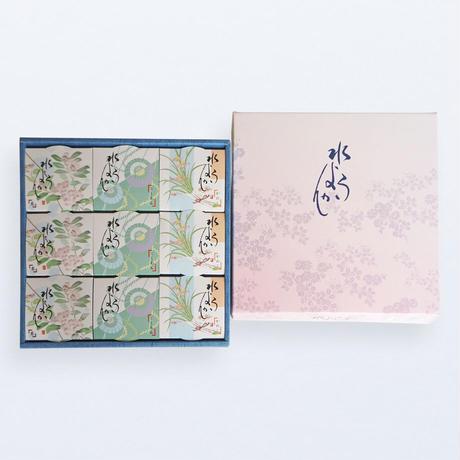 新潟県柏崎市 水ようかん/3種(こしあん・かのこ・栗) 9個入