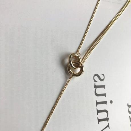 knot ring necklace