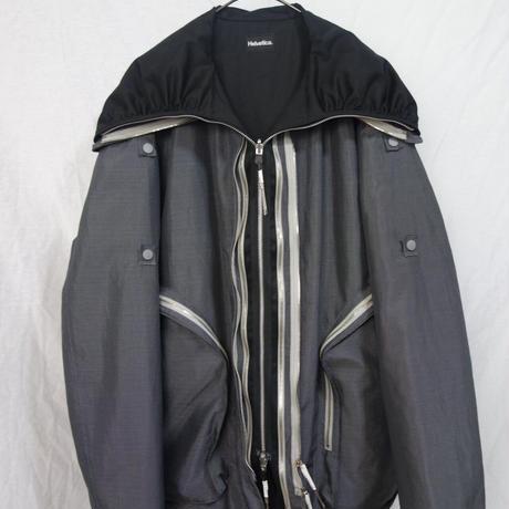 Dyneema RIPSTOP×Ventilegabadine Funnelneck jacket