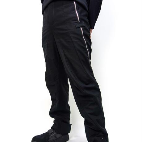Spiral cut trousers