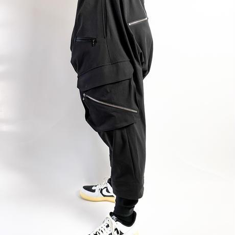 HD Drop crotch cargo trousers