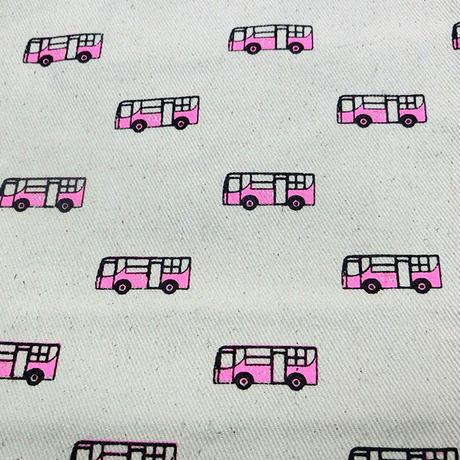 チュラーロンコーン大学ピンクバス柄トートバッグ