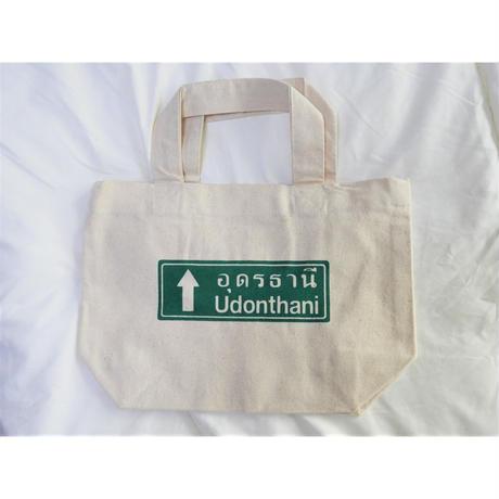道路標識柄トートバッグ ウドンターニー