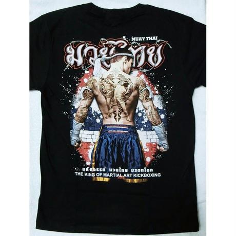 タイフェスで大人気のムエタイTシャツ タトゥー柄