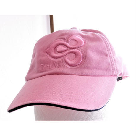 タイ国際航空キャップ ピンク