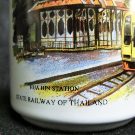 タイ国有鉄道(SRT)ホアヒン駅マグカップ