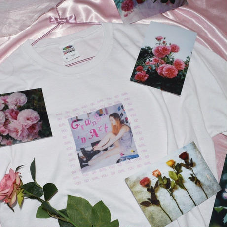 Grunge'n'Art mag × YOU GO GiRL zine Collaboration T-shirt