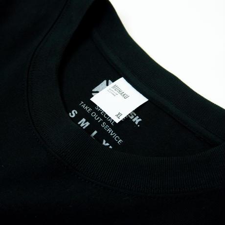 LOGO SS TEE -BLACK- SS21