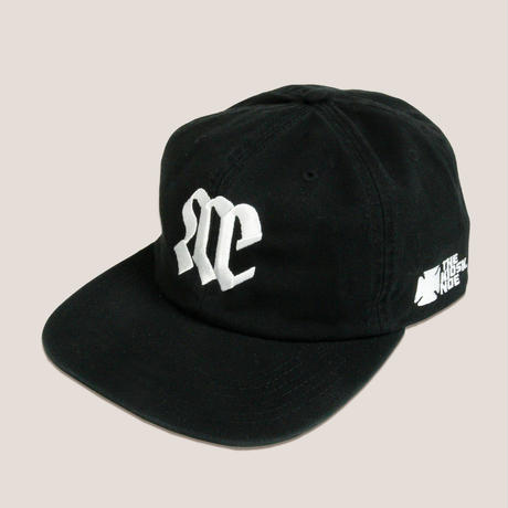 NOE TEAM LOGO COTTON 6PANNEL CAP -BLACK/WHITE-