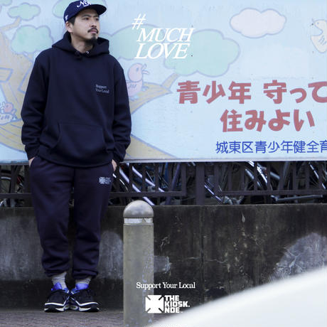 S.Y.L. SWEAT SET-UP -NAVY-