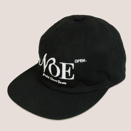 NOE 6PANNEL CAP -BLACK/WHITE-