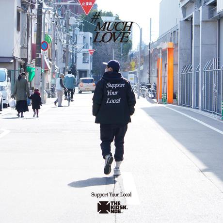 MUCH LOVE COACH JACKET -BLACK-