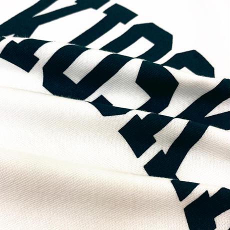 BIG ARCH LOGO LS TEE -WHITE-