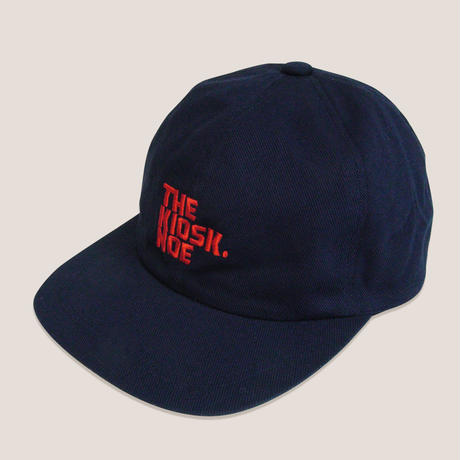 LOGO 6PANNEL CAP -BLUE/RED-
