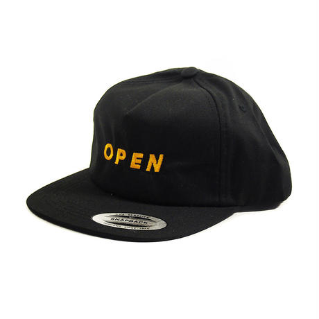 Cutting. Snapback Yellow/Black
